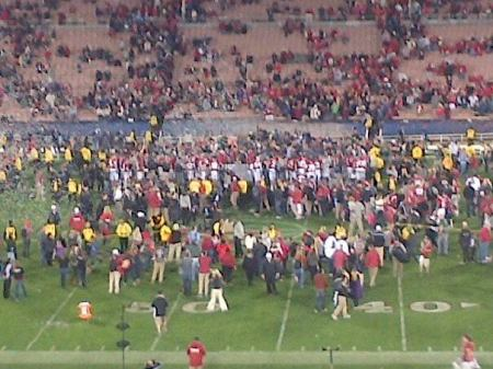 Rose Bowl Trophy Ceremony
